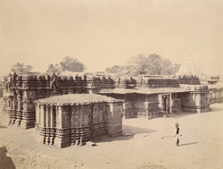 General view of the Trikuteshvara Temple, Gadag